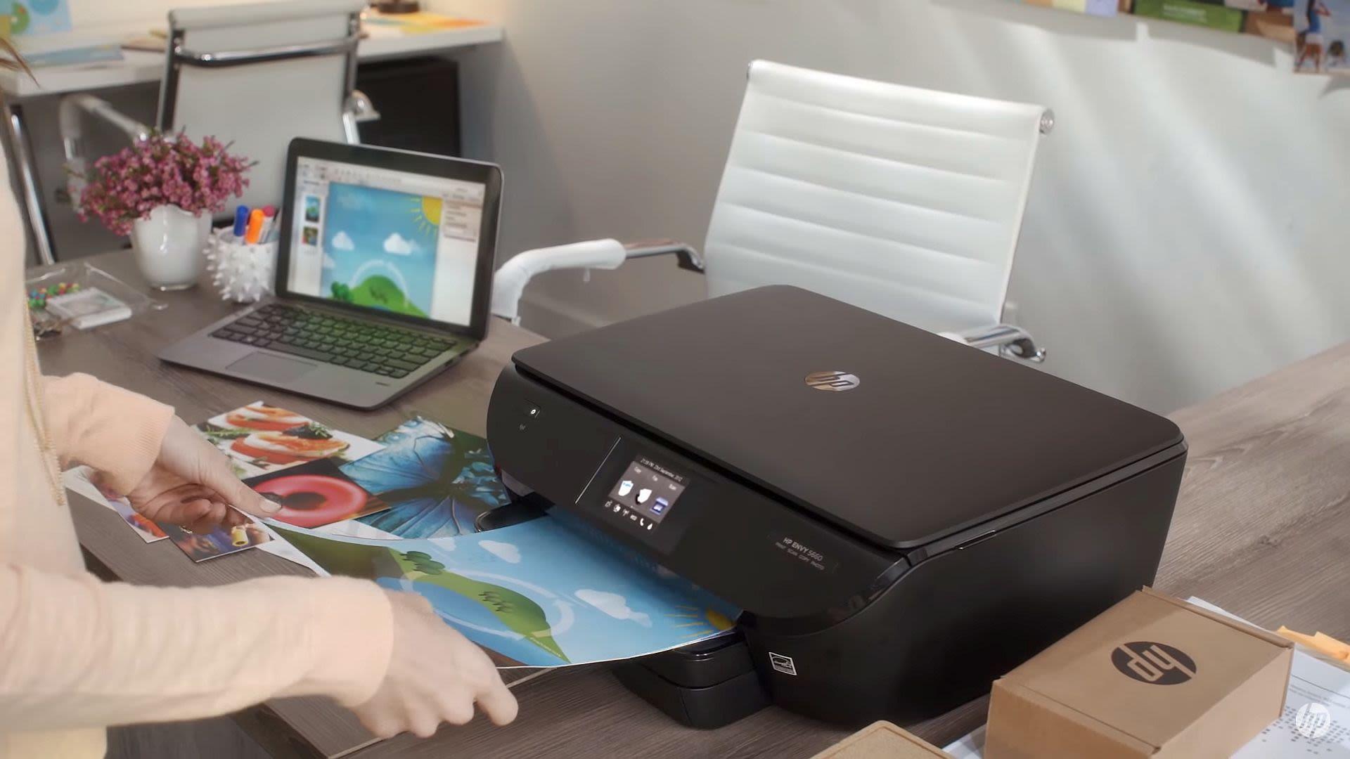 Drucker, IT, Homeoffice, Druckertinte, HP Instant Ink Copyright: YouTube / HP Deutschland