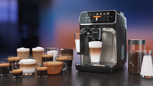12 Kaffeespezialitäten auf Knopfdruck