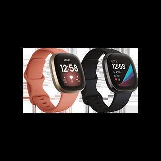 fitbit Fitness- und Gesundheits-Smartwatches