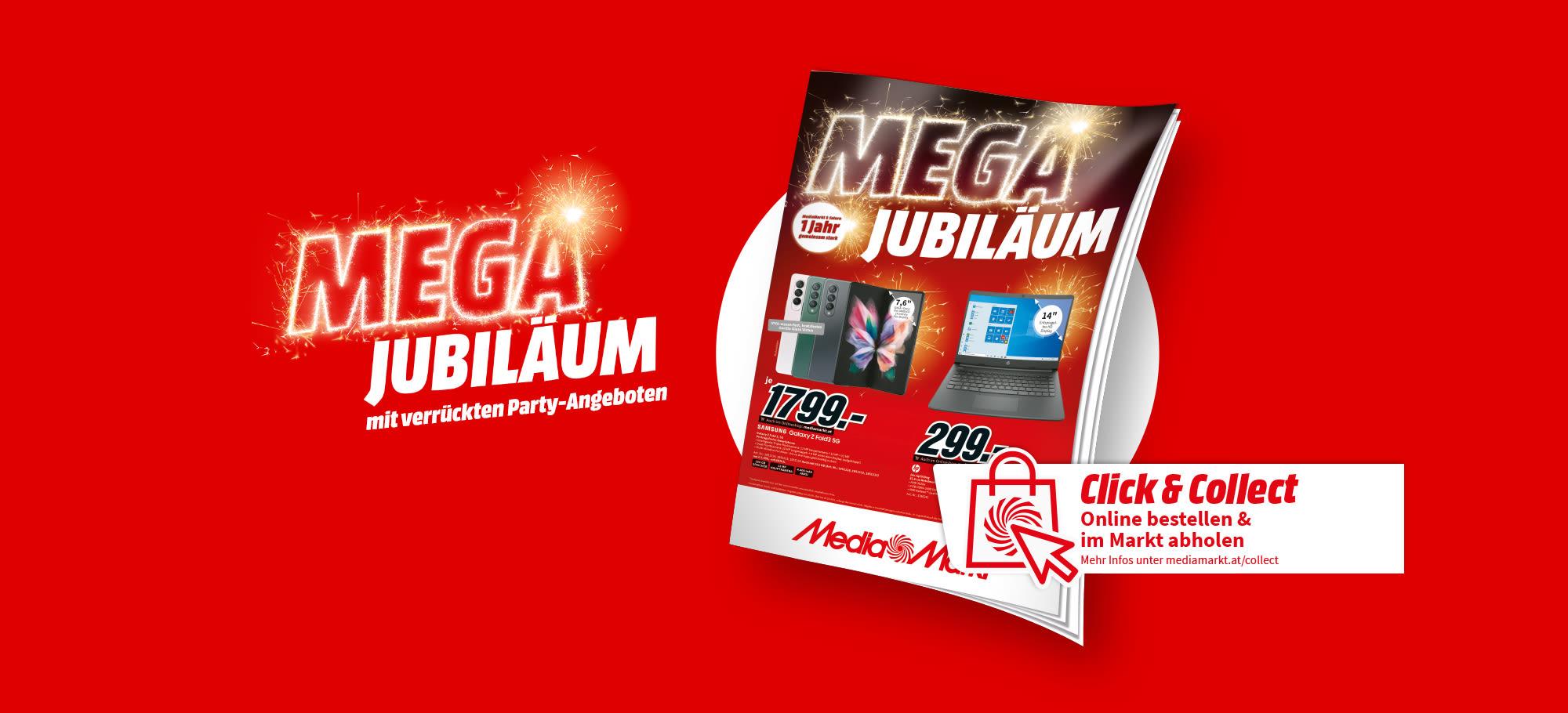Mega Jubiläum Flyer