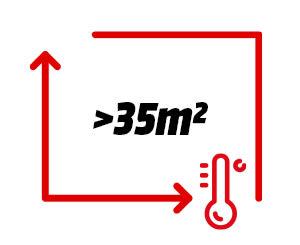 Product image (Raum >35m² (schlecht isoliert))