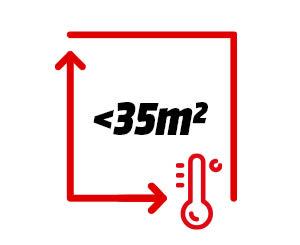 Product image (Raum <35m² (schlecht isoliert))